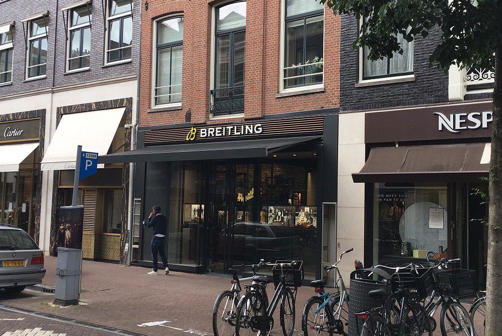 Breitling opent binnenkort haar nieuwe boutique store op de P.C. Hooftstraat 130