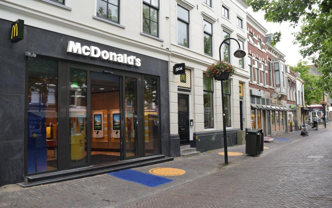Mc'Donalds opent nieuwe flagship store in hartje centrum Delft